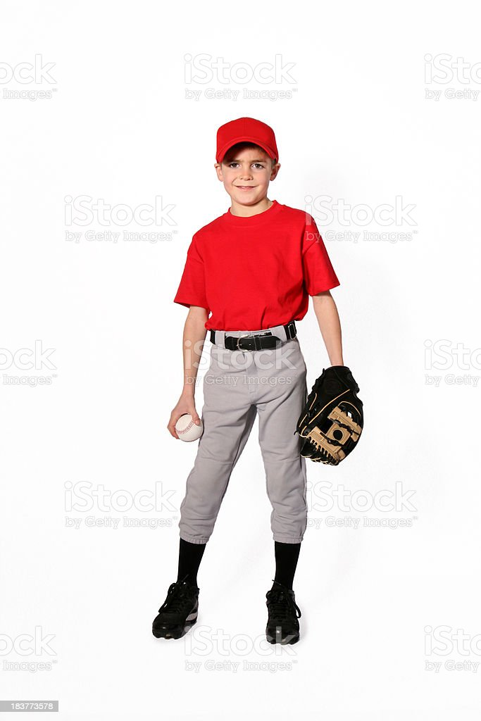 Baseball Player_Little League stock photo