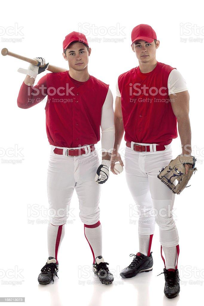 Baseball Players stock photo
