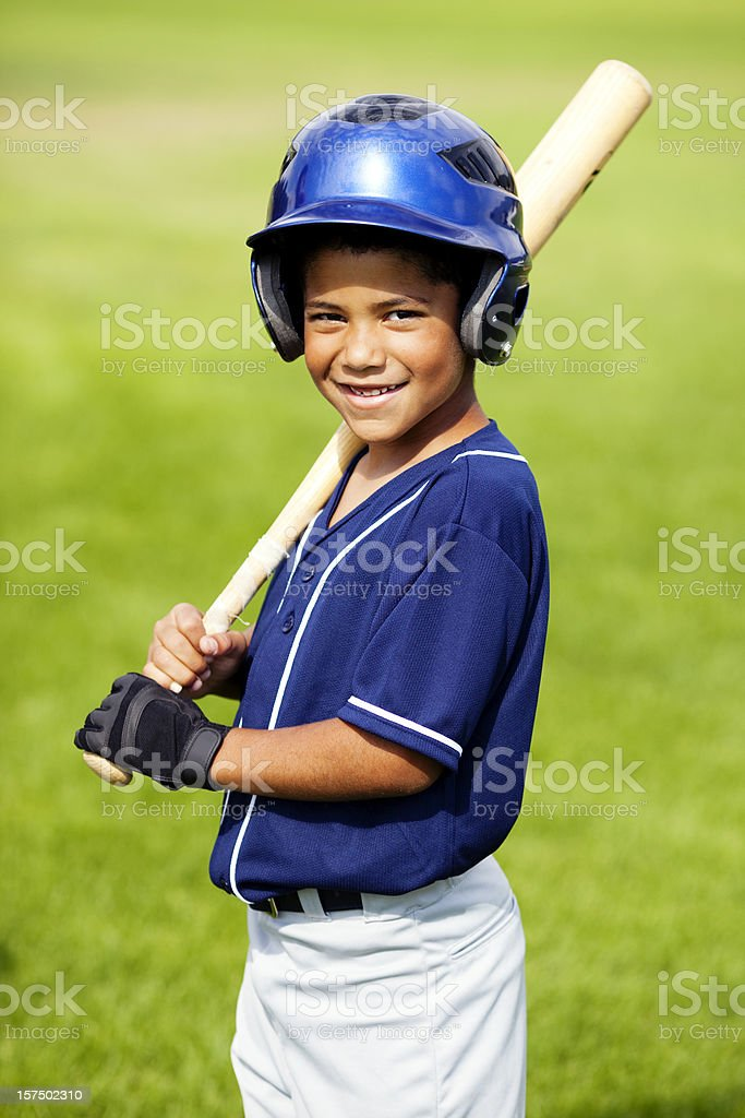 Baseball Portrait royalty-free stock photo