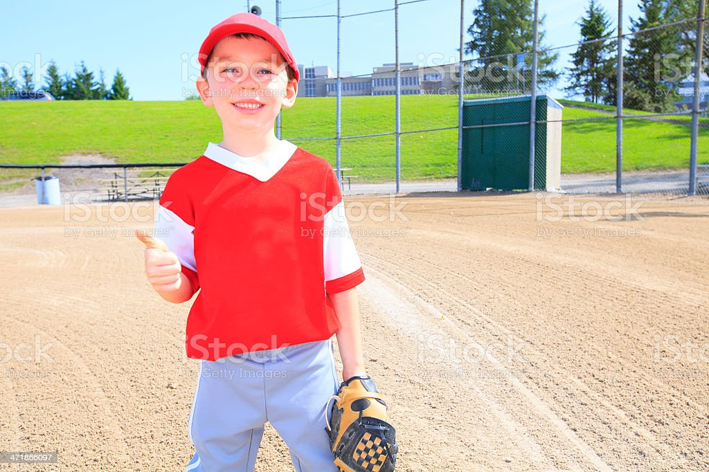 Baseball - Positive Player royalty-free stock photo