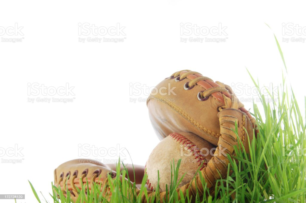 Baseball season stock photo