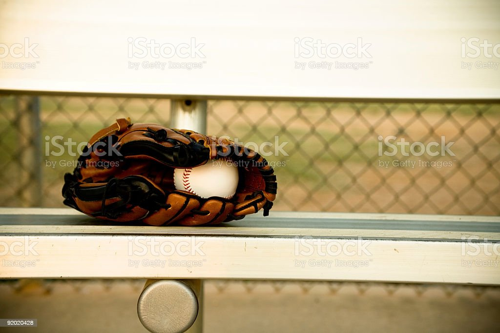 Baseball Season royalty-free stock photo