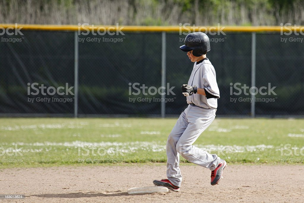 Baseball Second royalty-free stock photo