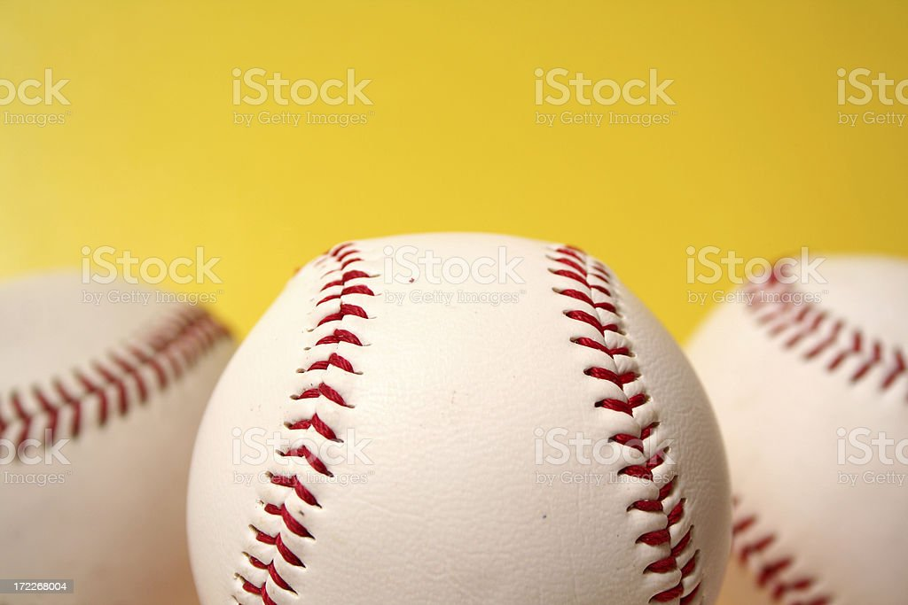 Baseball Series royalty-free stock photo