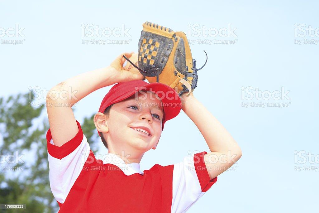 Baseball - Smile Boy royalty-free stock photo