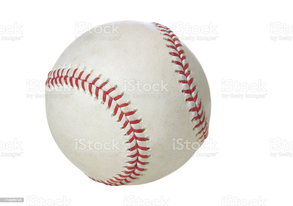 Baseball & Softball Series (CLIPPING PATH) royalty-free stock photo