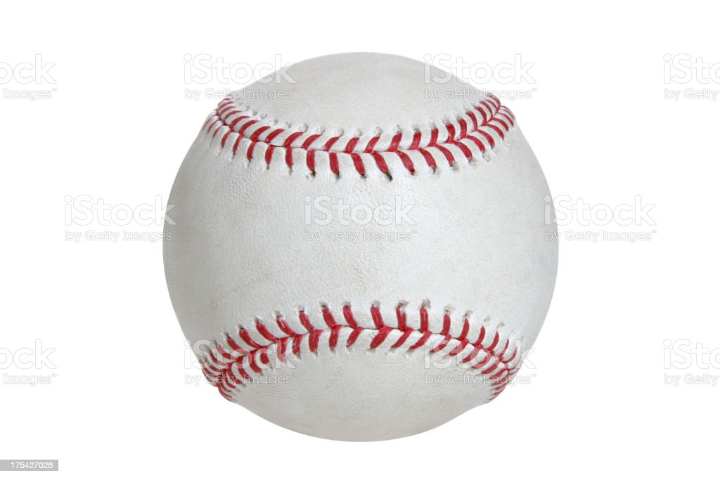 Baseball & Softball Series (on white with clipping path) royalty-free stock photo