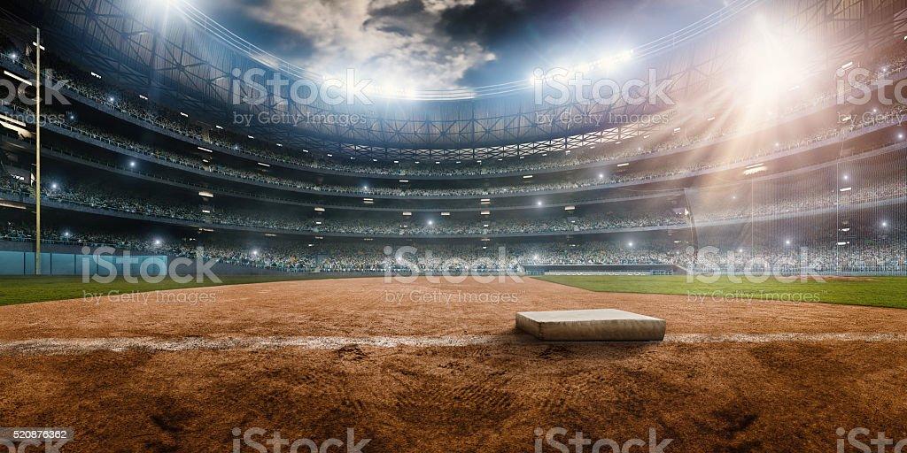 Baseball stadium royalty-free stock photo