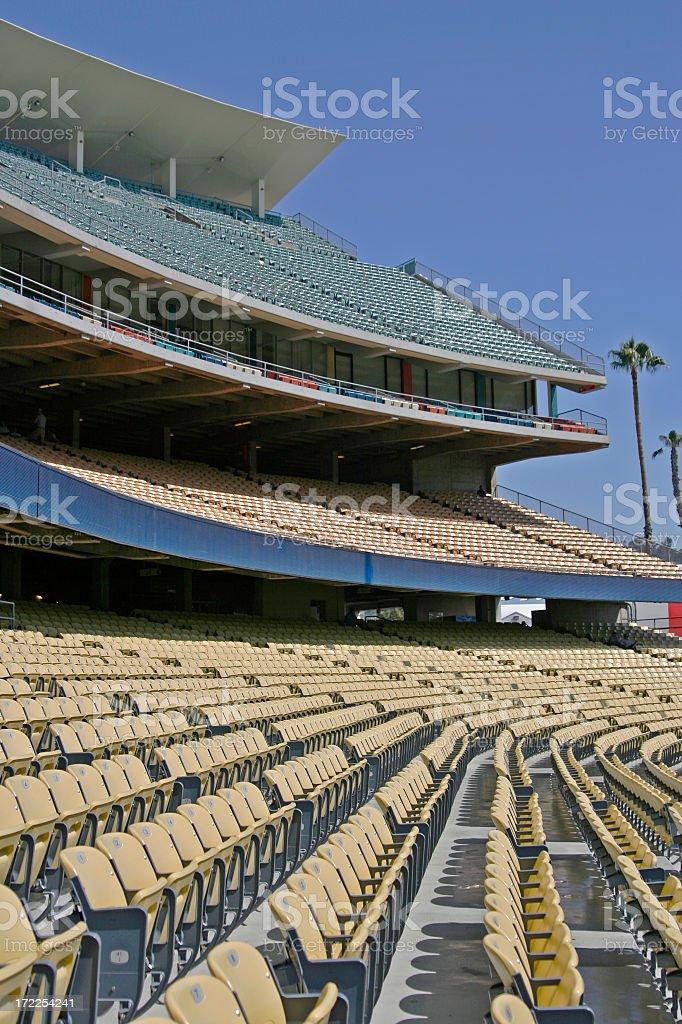 Baseball Stadium Seating royalty-free stock photo