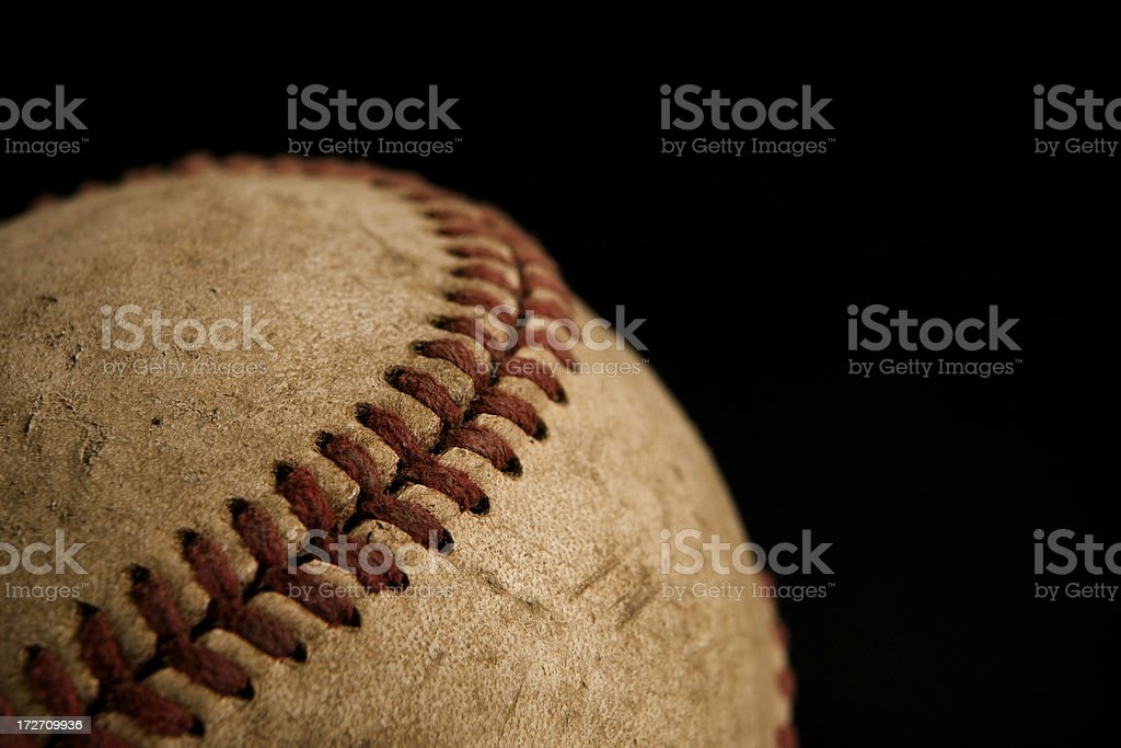 Baseball Surface royalty-free stock photo