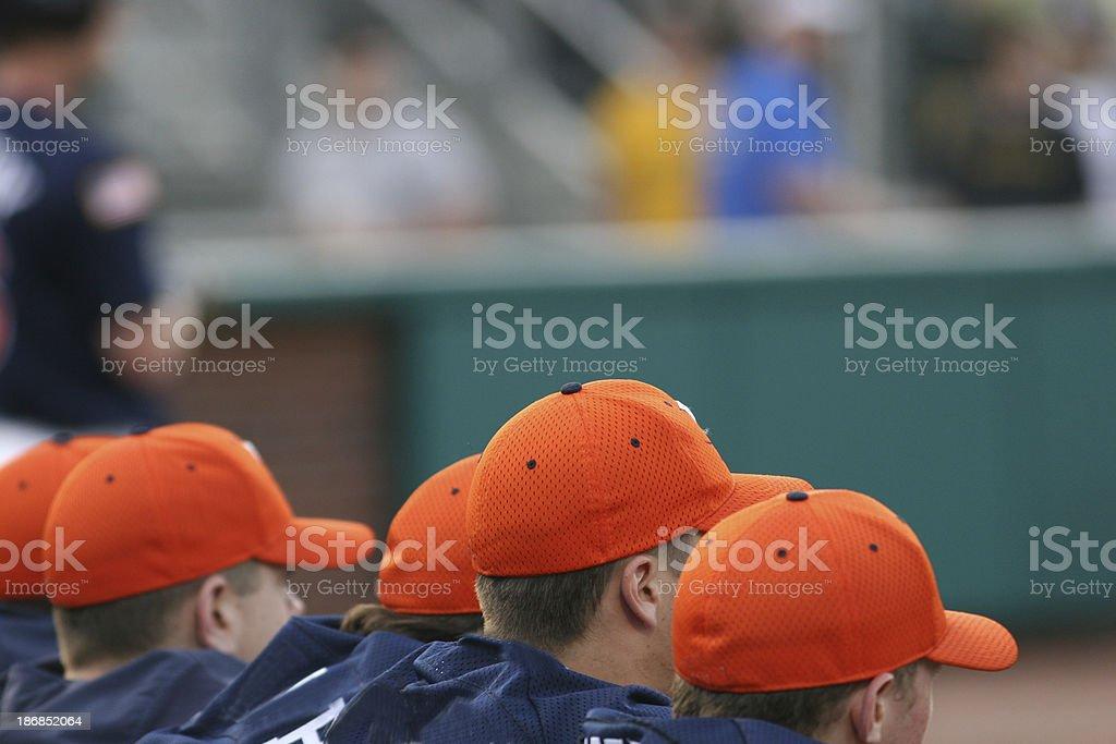 Baseball team royalty-free stock photo