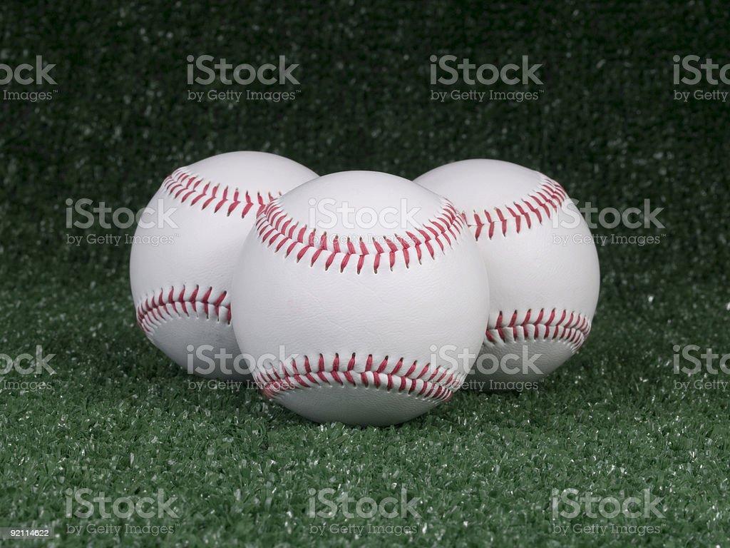 Baseball - Three Strikes!!! royalty-free stock photo