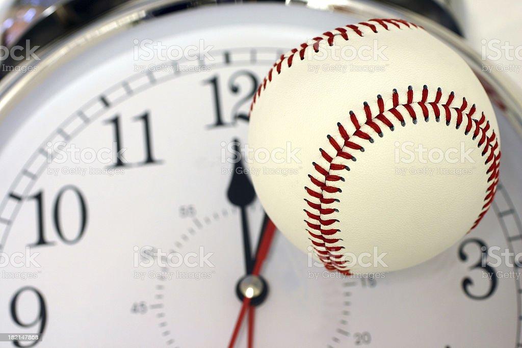 Baseball Time royalty-free stock photo