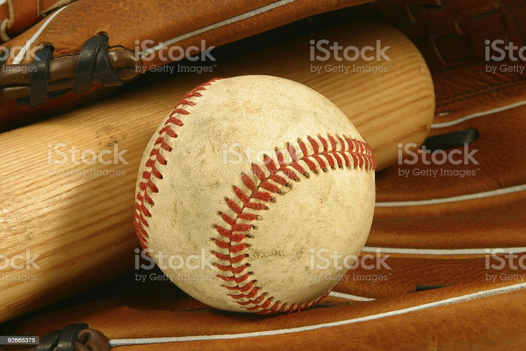 Baseball - Tools of the Trade royalty-free stock photo
