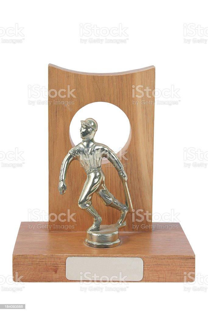 Baseball Trophy stock photo