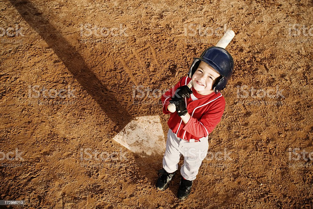 Baseballer stock photo