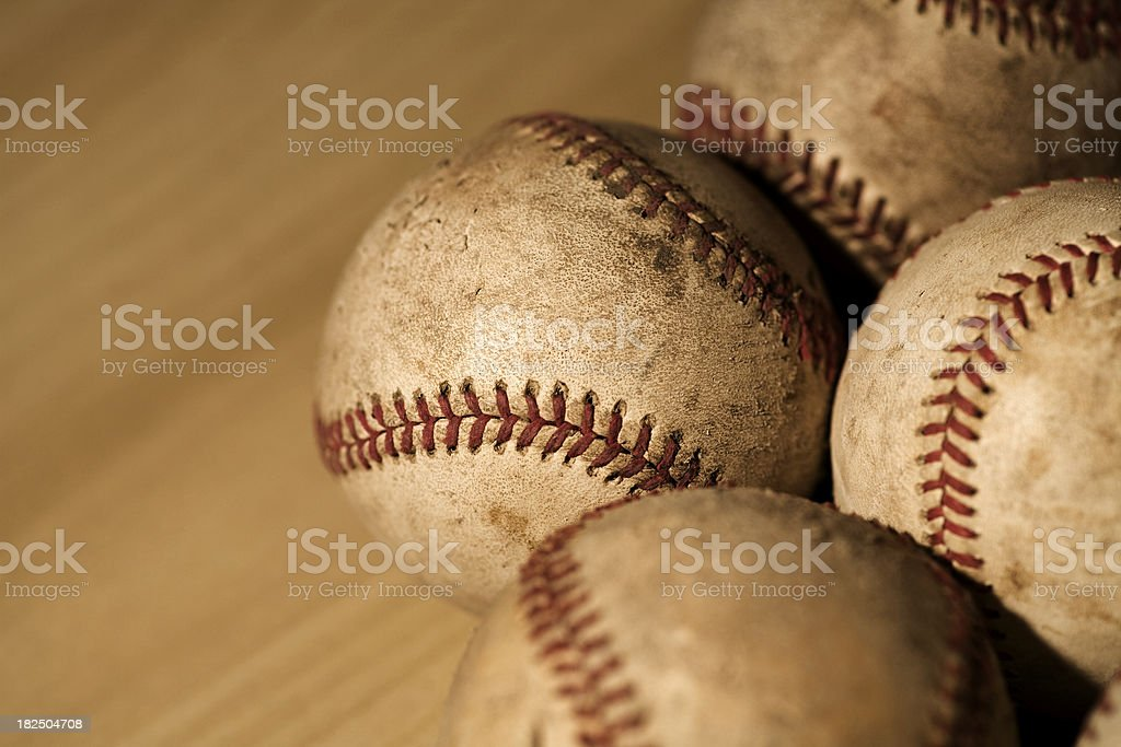 Baseballs royalty-free stock photo