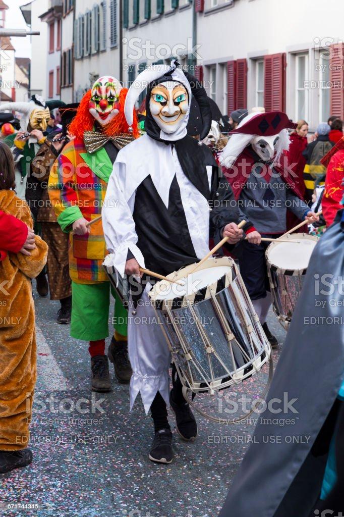 Basel carnival 2017 stock photo