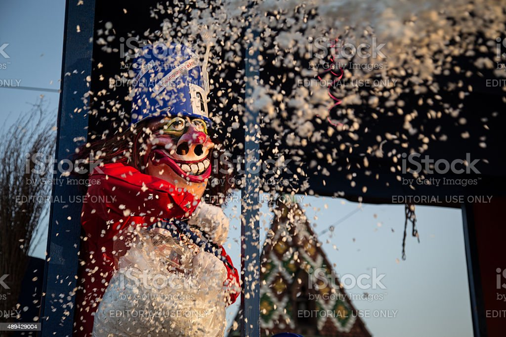 Basel Carnival stock photo