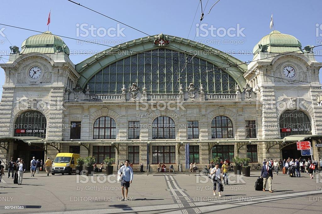 Basel Station stock photo