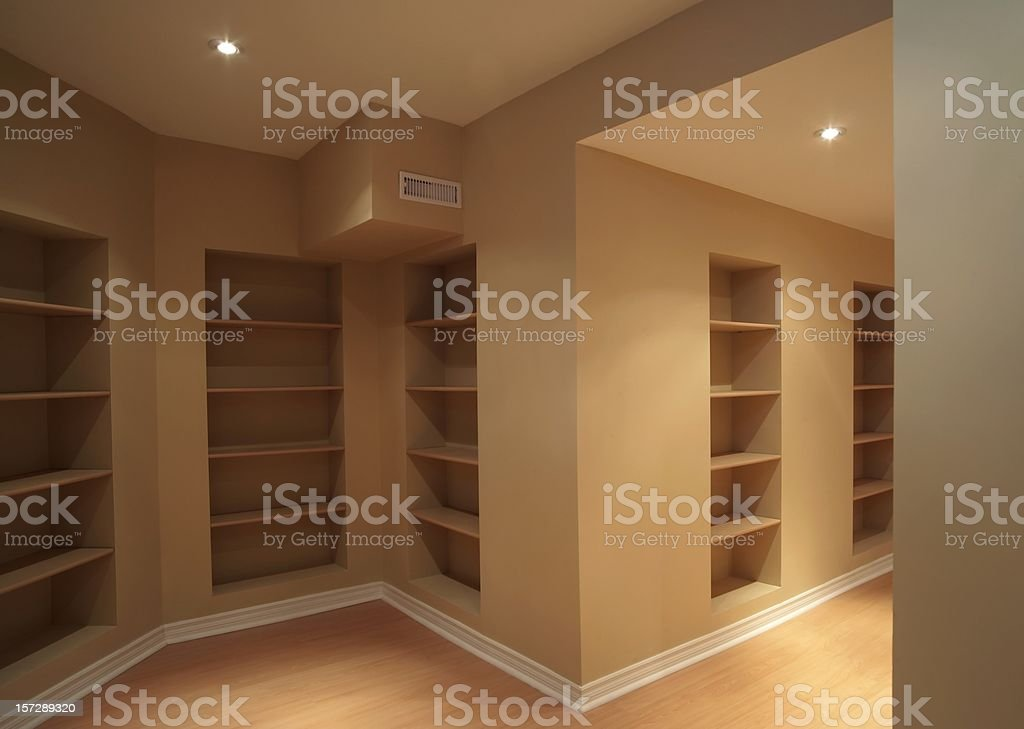 Basement renovation royalty-free stock photo