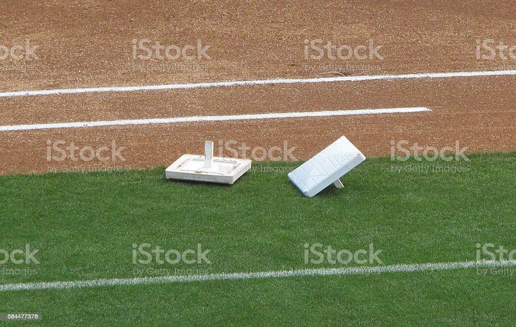 Bases stock photo