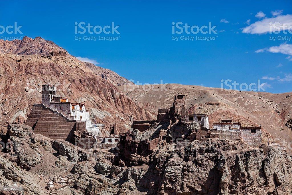 Basgo monastery. Ladakh, India stock photo