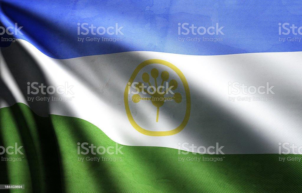 Bashkortostan Flag stock photo