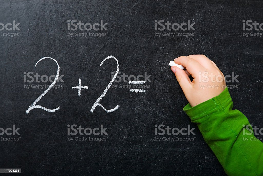 Basic Calculations stock photo