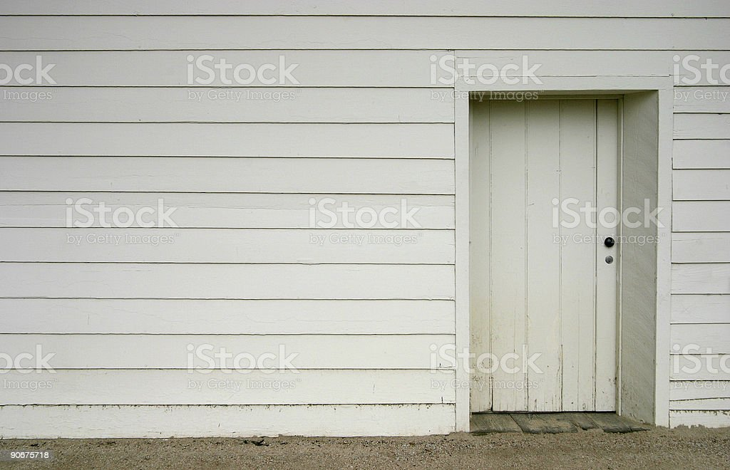 Basic Doorway royalty-free stock photo