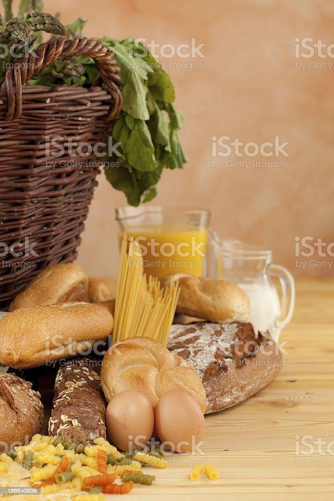 basic food royalty-free stock photo