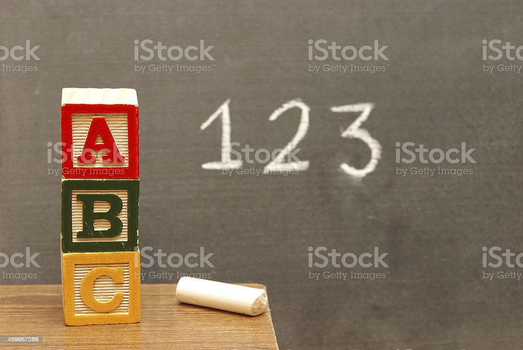 Basic Learning stock photo