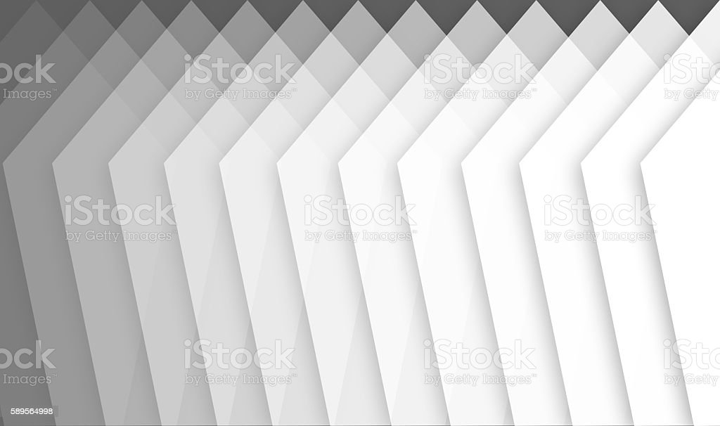 basic shapes showing abstact gradiant from gray to white stock photo