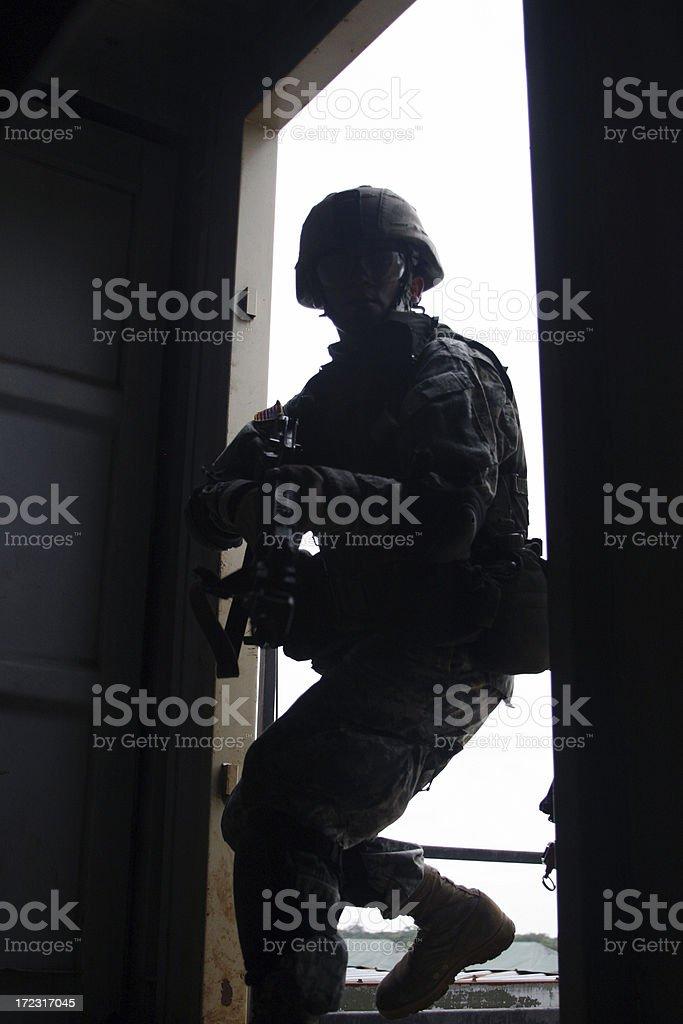 Basic Training stock photo