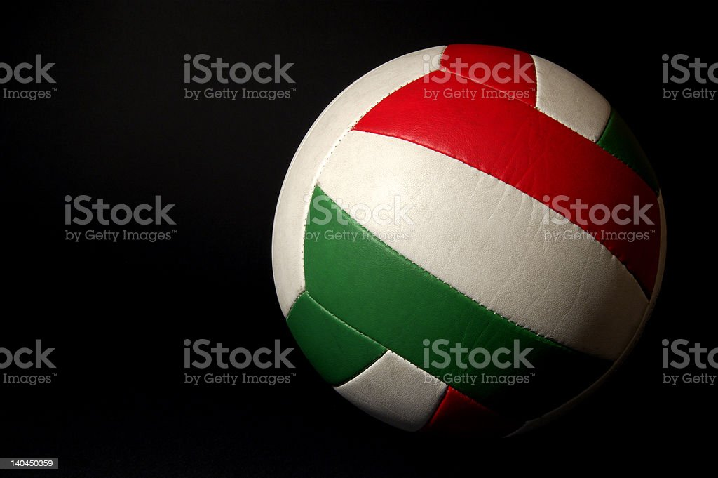 Basic volleyball royalty-free stock photo