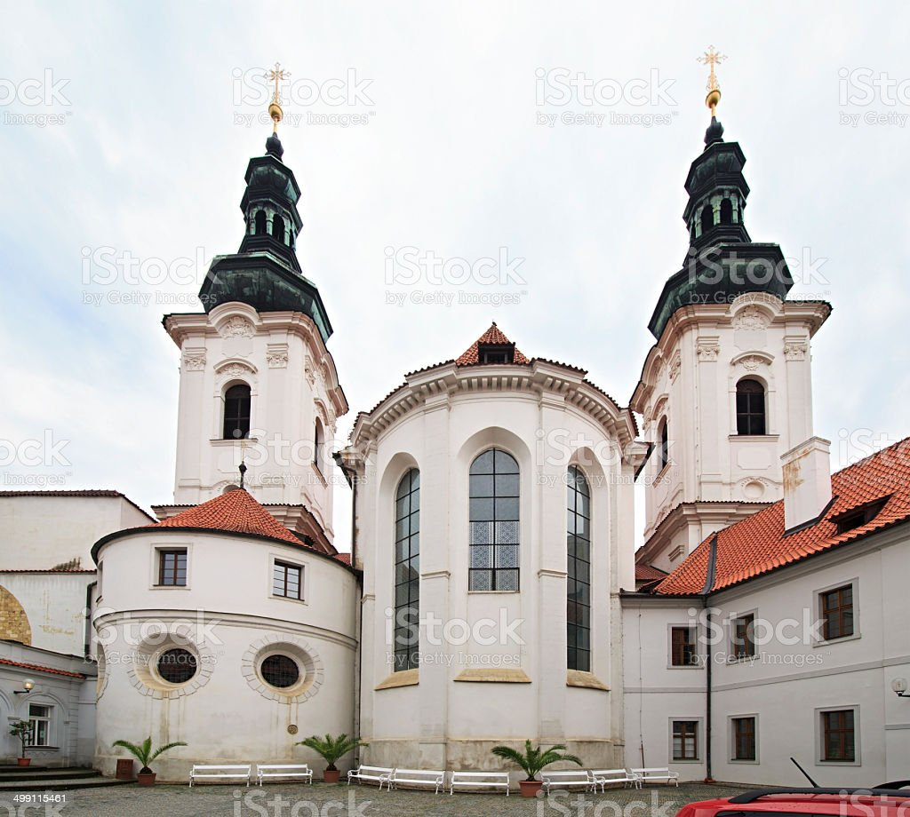 Basilica Assumption of Our Lady. stock photo