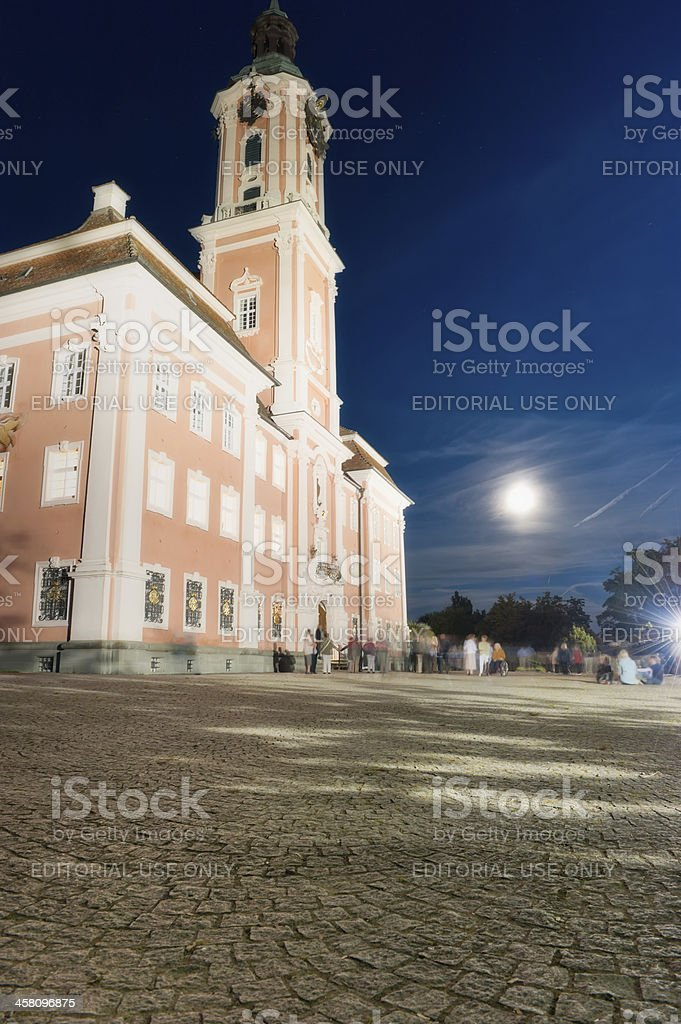 Basilica Birnau in Germany at the lake of constance stock photo