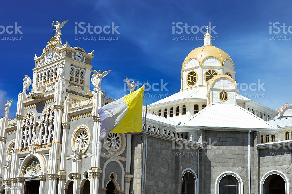 Basilica de Nuestra Senora de los Angeles, Cartago, Costa Rica stock photo