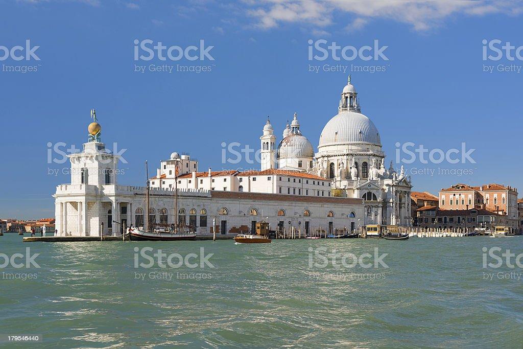 Basilica Della Salute in Venice royalty-free stock photo