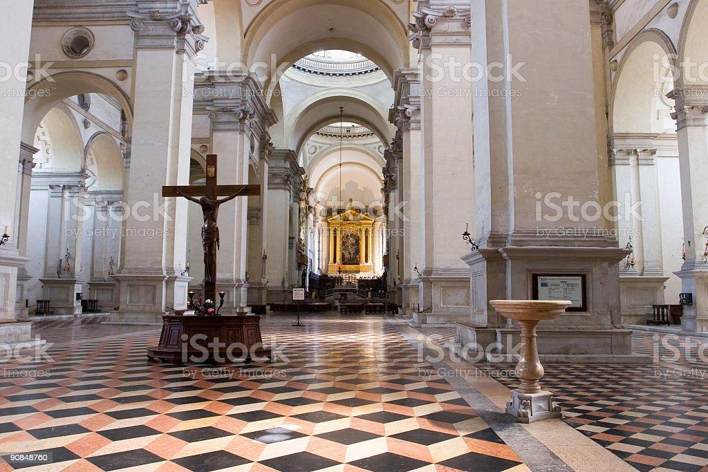 Basilica di S. Giustina stock photo
