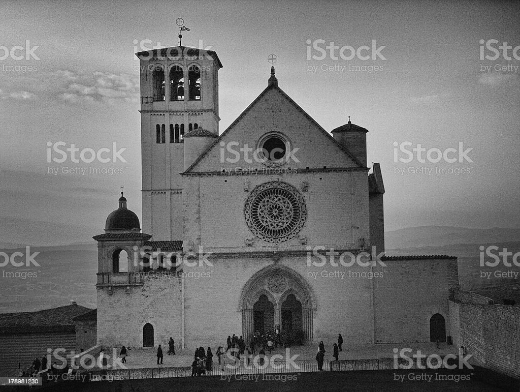 Basilica Di San Francesco royalty-free stock photo