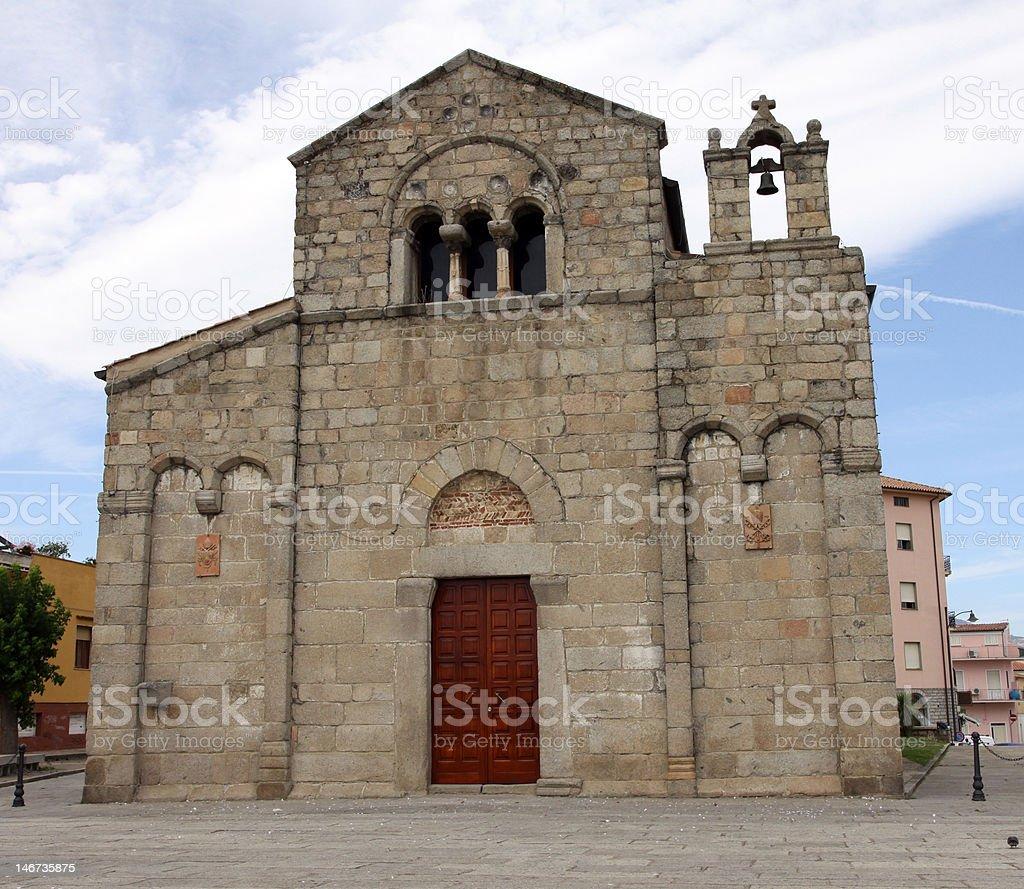 Basilica di San Simplicio stock photo