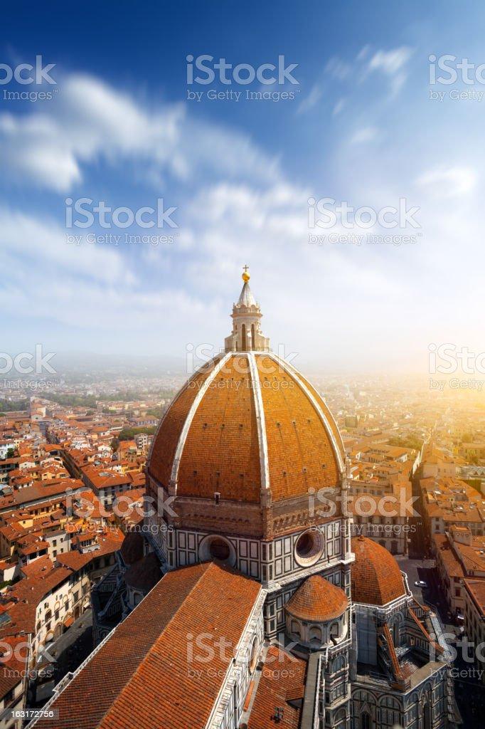 Basilica di Santa Maria del Fiore in Florence, Italy stock photo