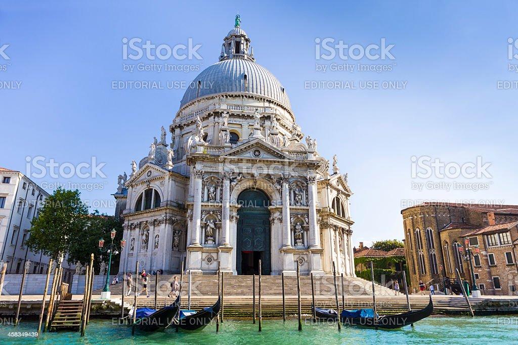 Basilica di Santa Maria Della Salute royalty-free stock photo