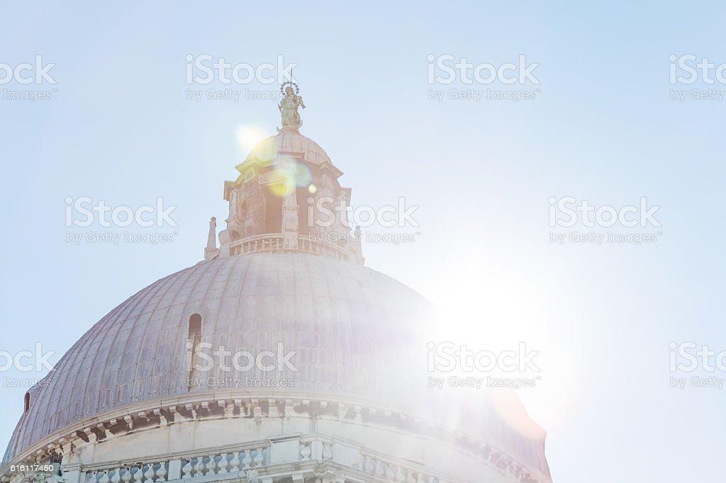 Basilica di Santa Maria della salute stock photo