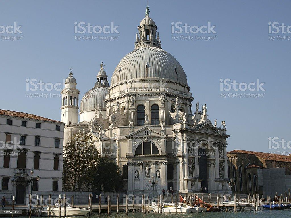 Basilica di Santa Maria Della Salute - Venice, Italy royalty-free stock photo