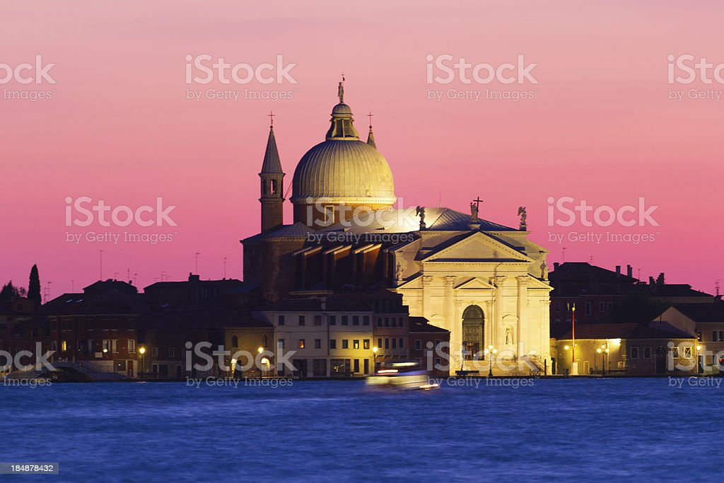 Basilica di Santa Maria della Salute, Venice royalty-free stock photo