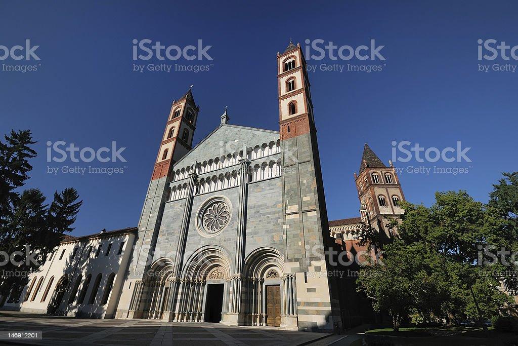 Basilica (Chiesa) di Sant'Andrea, Vercelli, Italia stock photo