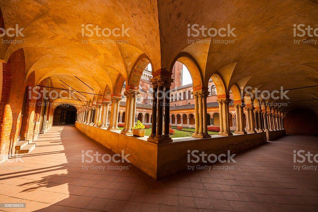 Basilica di Sant'Andrea, Vercelli, Piemonte, Italia stock photo