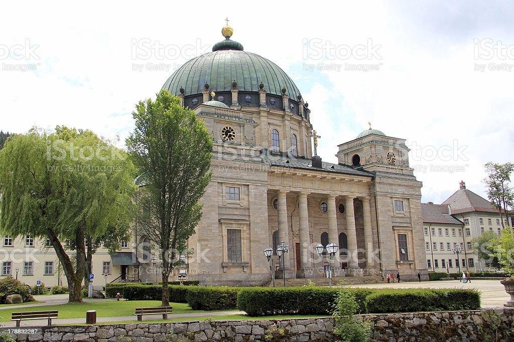 Basilica holy Blaise stock photo